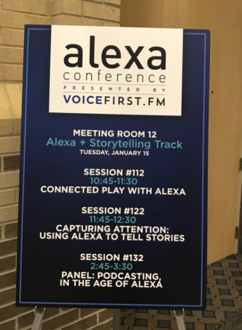 Alexa Conference 2019 Daily agenda